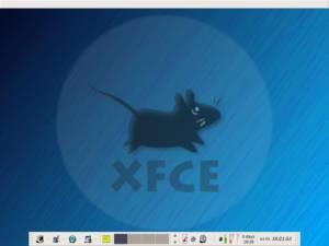 """El escritorio """"XFCE""""; imagen de cortesía de //Estréllate y Arde//"""