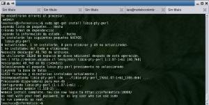 Instalación del Paquete de Webmin