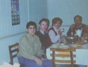 Yo y Jorge Schmidt en [[wpes>Curicó]], 1999